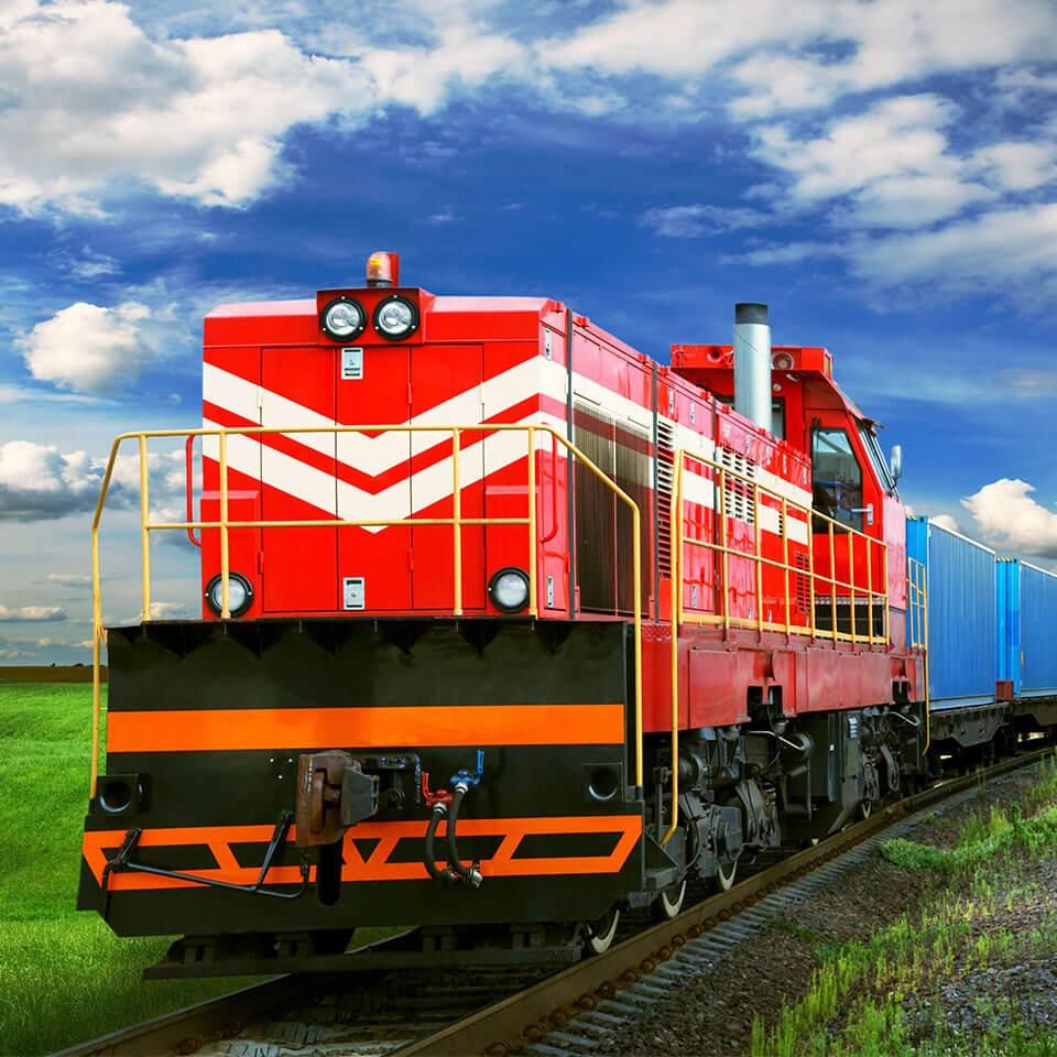 Standard LTL Freight Services Train