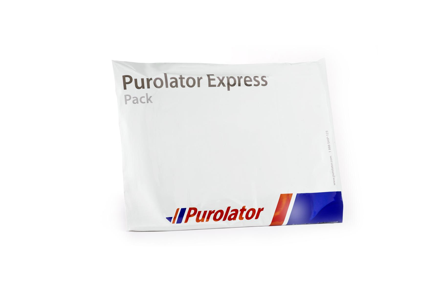 Purolator package