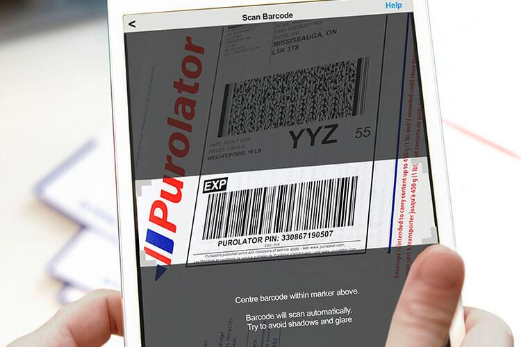Scanning a barcode with a mobile device